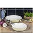 Swan Retro Frying Pans - Cream (20cm/28cm): Image 2