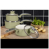 Swan Retro Saucepan Set - Green (3 Piece): Image 2