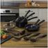 Swan Pan Set with Utensil Set - Black (5 Piece): Image 2