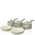 Swan Retro Pan Set - Green (5 Piece): Image 1