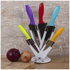Ciclour MCK24023 Cook in Colour Knife Block - Multi (5 Piece): Image 2