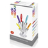 Ciclour MCK24023 Cook in Colour Knife Block - Multi (5 Piece): Image 3