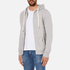 Tommy Hilfiger Men's Icon Zip Through Hoody - Grey Heather: Image 2