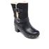 UGG Women's Brea Clog Suede Buckle Boots - Black: Image 2