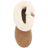 UGG Toddlers' Jorie II Sheepskin Collar Suede Boots - Chestnut: Image 3