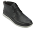 UGG Men's Freamon Grain Leather Desert Boots - Black: Image 2