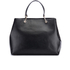 DKNY Women's Bryant Park Large Satchel - Black: Image 6