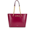 Ted Baker Women's Jalie Geometric Bow Shopper Tote - Oxblood: Image 1