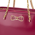 Ted Baker Women's Jalie Geometric Bow Shopper Tote - Oxblood: Image 6