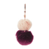 Ted Baker Women's Renah Fur Bag Charm - Nude Pink: Image 2
