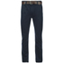 Smith & Jones Men's Ashlar Belted Slim Fit Chinos - Navy Twill: Image 1
