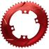 AbsoluteBLACK 110BCD 4 Bolt Spider Mount Aero Oval Chain Ring (Premium): Image 9