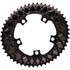AbsoluteBLACK 110BCD 5 Bolt Spider Mount Aero Oval Chain Ring (Premium): Image 5