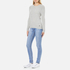 Superdry Women's Luxe Mini Cable Knit Jumper - Grey Marl: Image 4