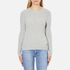 Superdry Women's Luxe Mini Cable Knit Jumper - Grey Marl: Image 1