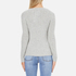 Superdry Women's Luxe Mini Cable Knit Jumper - Grey Marl: Image 3