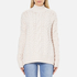 Superdry Women's Kiki Cable Knit Jumper - Cream: Image 1