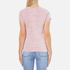 Superdry Women's MFG Original T-Shirt - Shocking Pink Slub: Image 3
