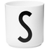 Design Letters Porcelain Cup - S: Image 1