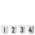 Design Letters Espresso Cups - Set Of 4: Image 1