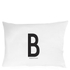 Design Letters Pillowcase - 70x50 cm - B: Image 1