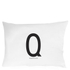 Design Letters Pillowcase - 70x50 cm - Q: Image 1