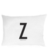 Design Letters Pillowcase - 70x50 cm - Z: Image 1