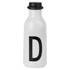 Design Letters Water Bottle - D: Image 1