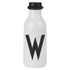 Design Letters Water Bottle - W: Image 1