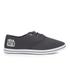 Henleys Men's Stash Canvas Pumps - Charcoal: Image 1