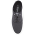 Henleys Men's Stash Canvas Pumps - Charcoal: Image 3