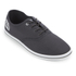 Henleys Men's Stash Canvas Pumps - Charcoal: Image 2