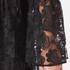 Perseverance Women's Drop Waist 3D Embroidered Mini Dress with Flare Sleeves - Black: Image 5