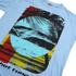 T-Shirt Homme Hot Tuna Surf -Bleu Ciel: Image 3