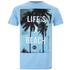 Hot Tuna Men's Life's A Beach T-Shirt - Sky Blue: Image 1