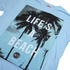Hot Tuna Men's Life's A Beach T-Shirt - Sky Blue: Image 3