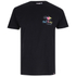 T-Shirt Hot Tuna Rainbow -Noir: Image 1