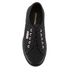 Superga Kids' 2750 Jcot Classic Trainers - Full Black: Image 3