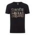 Camiseta DC Comics Escuadrón Suicida Logo - Hombre - Negro: Image 1