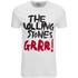 Rolling Stones Men's Logo GRRR! T-Shirt - White: Image 1