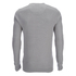 Brave Soul Men's Warren Roll Edge Jumper - Silver Grey: Image 2