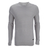 Brave Soul Men's Warren Roll Edge Jumper - Silver Grey: Image 1