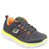 Skechers Kids' Flex Advantage Trainers - Charcoal: Image 1