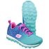 Skechers Kids' Skech Air Lite Trainers - Blue/Aqua: Image 3