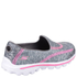 Skechers Kids' Go Walk 2 Relay Shoes - Grey: Image 2