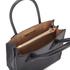 MICHAEL MICHAEL KORS Women's Mercer Mid Messenger Tote Bag - Black: Image 5
