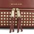 MICHAEL MICHAEL KORS Women's Rhea Zip Mid Stud Backpack - Brick: Image 4