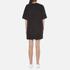 Marc Jacobs Women's T-Shirt Dress with Emblem - Black: Image 3
