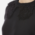 Marc Jacobs Women's Long Sleeve Dress with Crochet Collar - Black: Image 4