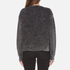 Marc Jacobs Women's Long Sleeve Crew Neck Cat Sweatshirt - Grey: Image 3